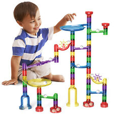 83pcs DIY Marble Race Run Maze Building Blocks Tower Game Kids Child Toy Gift