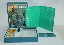 Gently Used Vintage 1964 Stocks & Bonds 3M Bookshelf Game