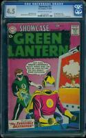 Showcase 23 CGC 4.5 OW/W Silver Age Key DC Comic 2nd App. Green Lantern L@@K
