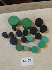 ASSORTED LABORATORY RUBBER STOPPERS