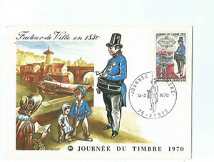 970CARTE Maximum Factor Of City IN 1830 Day Of Stamp 1970