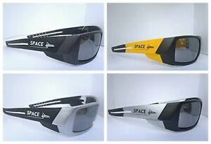 Men's Sport Sunglasses Mirror Color Lens UV400 Sports Wrap