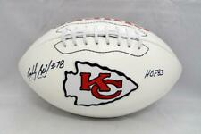 Bobby Bell HOF Autographed Kansas City Chiefs Logo Football- JSA Witnessed Auth