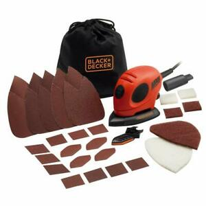 55W Detail Mouse Electric Sander with Removable Quick Fit Tips