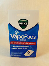 Vicks VapoPads Refill Pads refill VSP-19 soothing menthol vapors