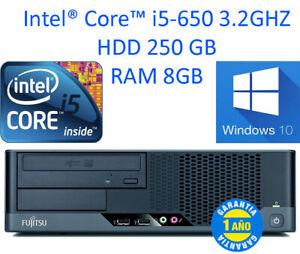 Fujitsu ESPRIMO E9900 Core i5-650 RAM 8GB W10