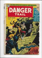 Danger Trail #3 [1950 Fr] One Of The Rarest Early 50's Dc Comic!