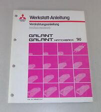 Werkstatthandbuch Mitsubishi Galant E 30 Nachtrag Elektrik Schaltpläne von 1990