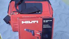 HILTI SD 4500-A18 18V Cordless Drywall Screw Driver KIT Brand New.