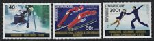Central Africa 1976 Winter Olympics set Sc# 255/C149 NH