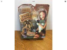 1999 Tomb Raider NOS Action Figure Set-Lara Croft Conquers The Legendary Yeti
