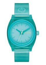 Nixon A1215-309 Medium Time Teller P Women's Watch Turquoise 31mm