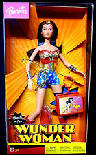 "DC Comics Wonder Woman Barbie Doll  2"" boxed set Mattel Toys 2003"