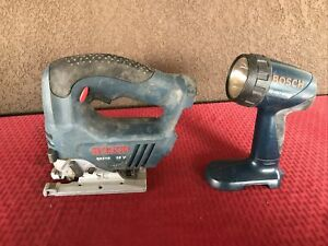 """BOSCH 52318 CORDLESS 18 V JIG SAW And Flashlight TOOL ONLY"""""""
