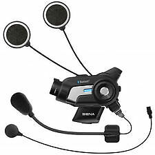 Sena 10C Motocicleta 4.1 Bluetooth Cámara y comunicación Kit 2017 Reino Unido stock (nuevo)