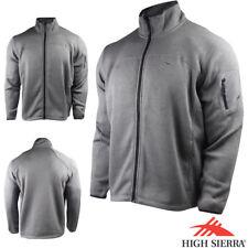 High Sierra Funston Full Zip Jacket (2X)- Charcoal