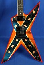 Dean Dimebag Dime Pantera Dixie Rebel DXR Electric Guitar w/ OHSC