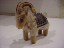 Steiff Vintage 1940's Navy Goat Mascot w/original tag US Naval Academy Military