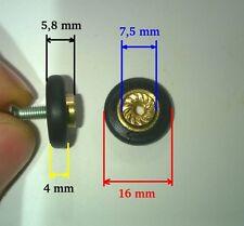 6 RUEDAS DE MAMPARA 16 mm (tenemos rodamientos para ventanas rueda rodamiento)