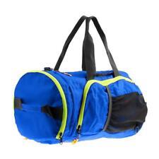 High Quality Outdoor Large Gym Bag Sports Bag Travel Duffel Bag - Blue