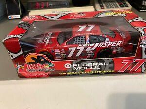 #77 Robert Pressley Jasper Racing Champions 1:24 NASCAR diecast promo