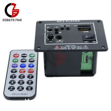 Mini Car Bass Power Amplifier Mp3 with USB/SD Card Readers + Remote Control 12V