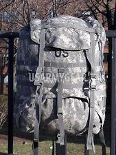 US Army Molle ll ACU Rucksack + Frame Set GI / No Shoulder Straps No Waist Belt