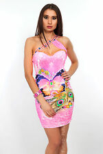 High Quality One Shoulder Dress Sleeveless Tunic Bodycon FC2962/6827