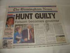 1993  THE BIRMINGHAM NEWS - HUNT GUILTY