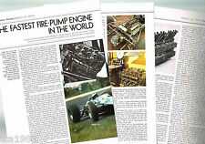 Vintage COVENTRY CLIMAX F1 Formula One 1 GP Article / Photos / Pictures: Lotus25