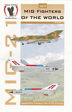 1/32 Eagle Strike Decals Mig 21 Fighters of the World Trumpeter Revell Hasegawa