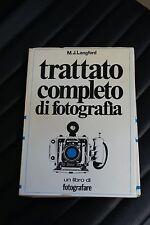 Trattato completo di fotografia - Langford - Prima edizione Fotografare 1972