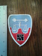 WW 2 US Army Nuremberg Trials patch Reproduction