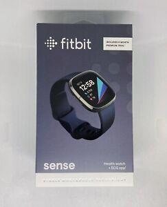 Fitbit Sense Advanced Activity Tracker Smartwatch Carbon/ Graphite New Sealed