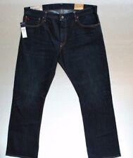 Polo Ralph Lauren Men's Dark Denim Jeans 36 X 30 Bootcut Richmond Wash NEW