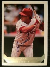 Len Dykstra Autographed Topps Gold 1993 Baseball Card #740 Philadelphia Phillies