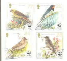 Birds Used Manx Regional Stamp Issues
