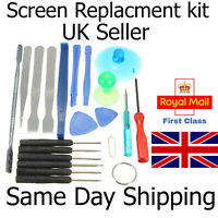 Tool Kit Fix Repair Replace Smashed Cracked Phone Screen LCD Battery Digitiser