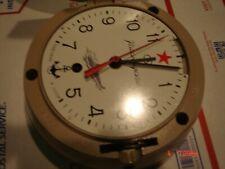 KAUAHGUYCKUE VINTAGE Repro RUSSIAN SUBMARINE USSR Soviet WALL CLOCK Running!