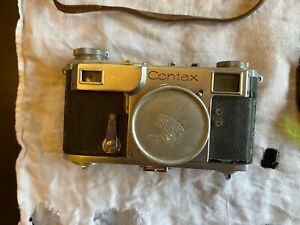 Lot of parts for Vintage Contax Camera