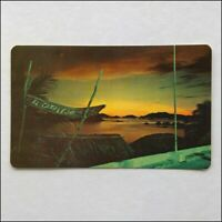 Puesta Del Sol Sunset Acapulco Mexico 1970s Postcard (P398)