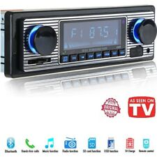 Bluetooth Vintage Car Radio MP3 Player Stereo USB AUX Best Classic Stereo Audio