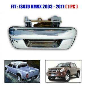 Fit 02 03 04 05 06 Isuzu D Max Holden Rodeo Chrome Tailgate Handle D-Max 1 Pc