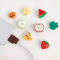Cute USB Charger Cable Cover Wire Cord Protector For iPhone WLBDAU