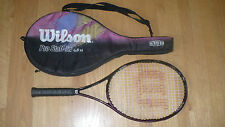 Wilson Pro Staff lite 6.8 si Tennis Racket - New Pro Sensation Grip Wrap - 4 3/8