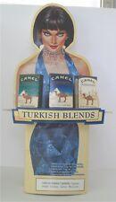 Camel Cigarettes Turkish Blends 2002 Easel Advertising Cardboard Display Sign
