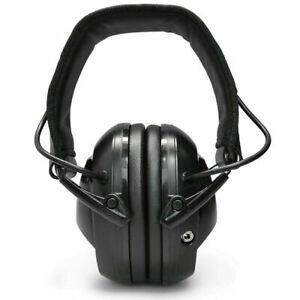 Ear Muffs NRR Earphones Electronic Hunting Earmuffs Gun Range Noise Reduce