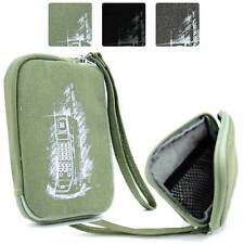 Digital Camera Protective Zipper Canvas Pouch Case FSLMRV-21