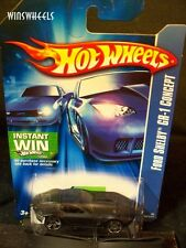 HOT WHEELS 2006 #206 -2 FORD SHELBY GR-1 CONCEPT BLAK PR5 MAL 07 IWG CA