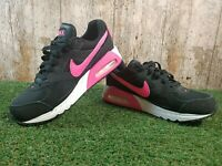 Womens Nike Air Max Ivo Gs Girls Trainers Black/ Pink/ White Size 3 UK 35.5 EUR
